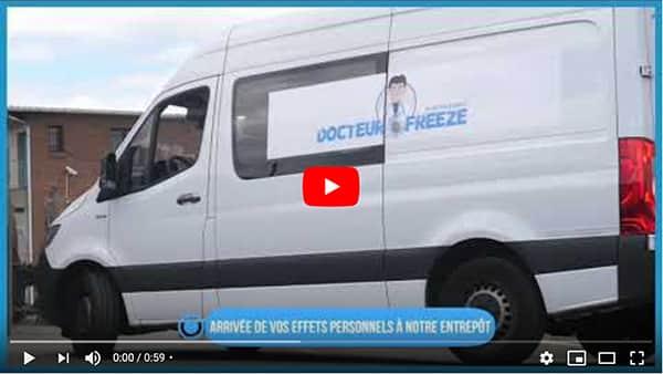 vidéo sur le traitement du linge par la cryogénisation
