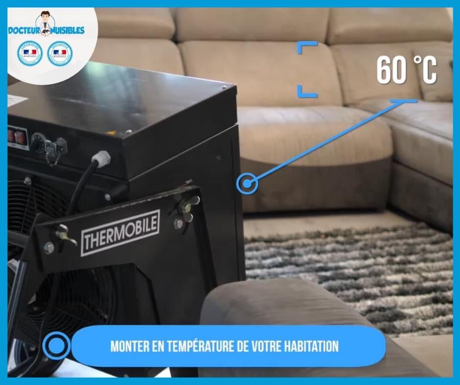Monter la température de votre habitation